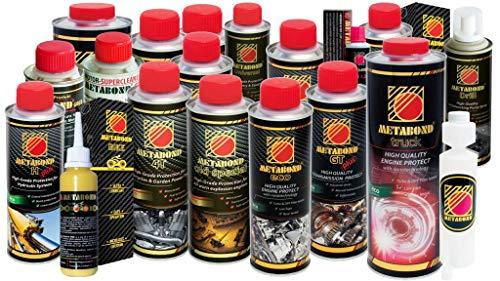 Metabond ECO additivo per olio motore antiattrito antiusura per motori BENZINA DIESEL E GPL - ceramic