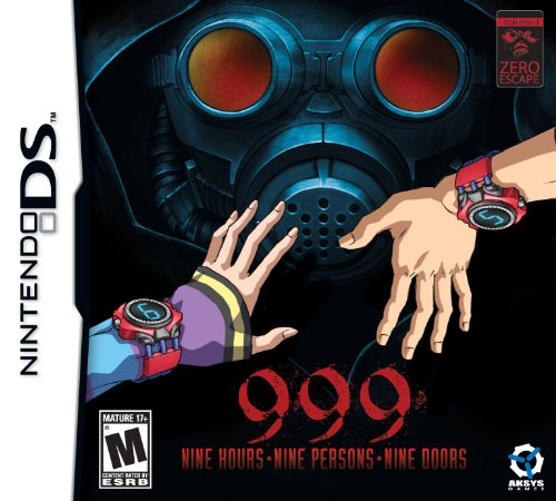 Zero Escape, Volume 1 - 999: 9 Hours, 9 Persons, 9 Doors [US Import]