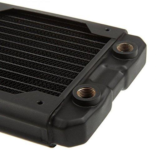 Hardware Labs–Black Ice Nemesis Heizkörper GTS 240(2x 120)–Schwarz - 3