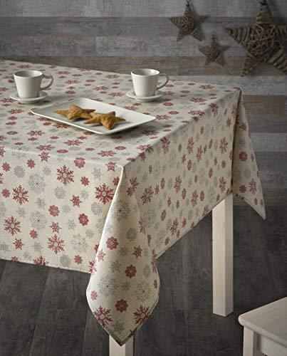 atenas home textile Mantel Navidad Antimanchas - Frozen - 140x140