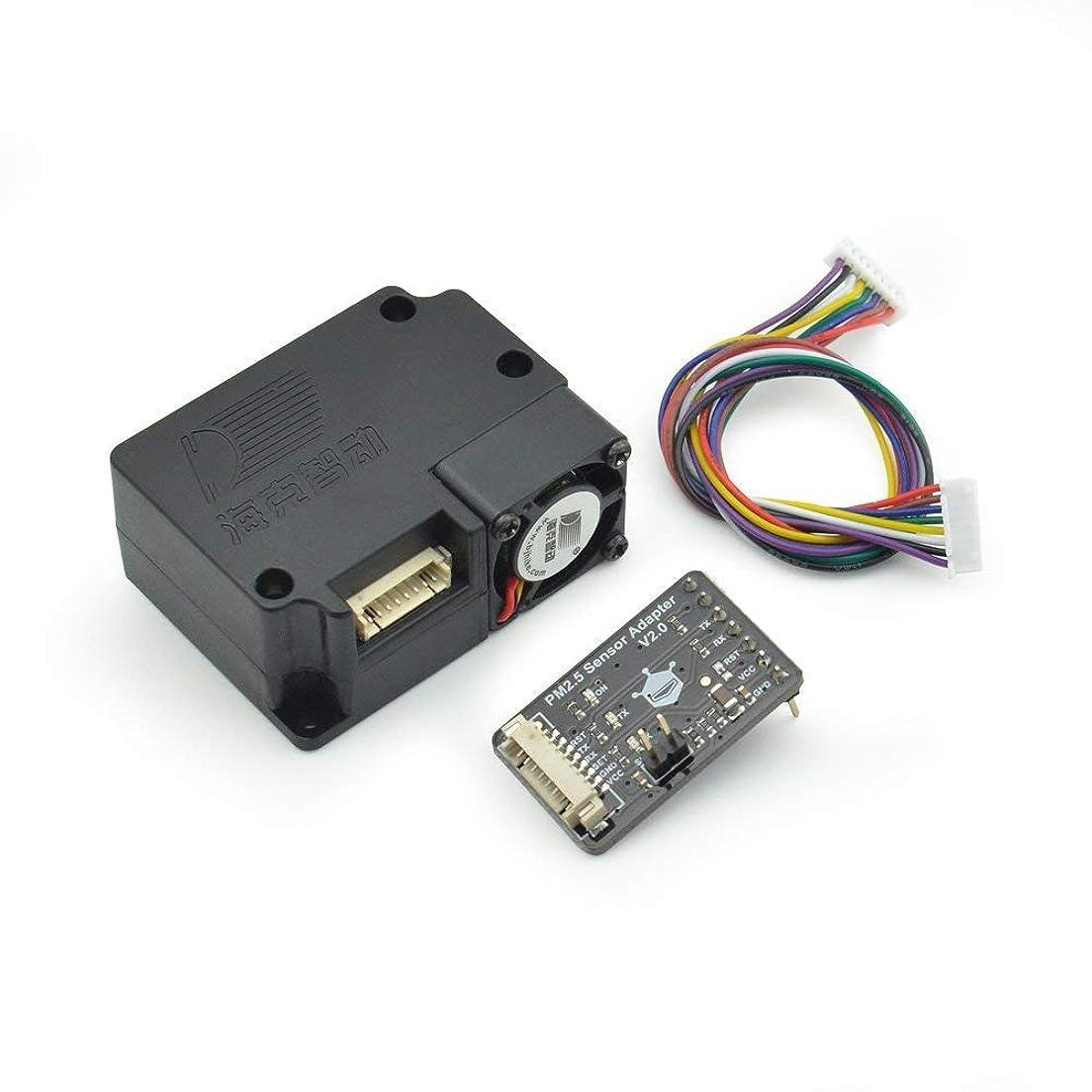 バインド放棄された節約するGravity: レーザー pm 2.5 空気質センサー Arduino 用