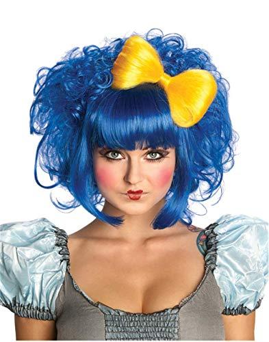 Rubie's Cutie Doll Costume Wig, Blue, One Size