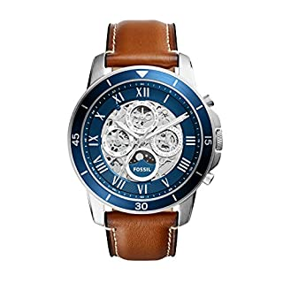 Fossil Men's Analog Automatic Watch with Leather Strap ME3140 (B01MZDX7S7) | Amazon price tracker / tracking, Amazon price history charts, Amazon price watches, Amazon price drop alerts