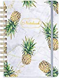 Ruled Notebook/Journal - Lined Journal with Hardcover, 8.35' x 6.3', College Ruled Spiral Notebook/Journal, Back Pocket, Strong Twin-Wire Binding with Premium Paper, Home & Office