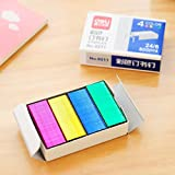 """Mini colori Staples, 10 (per l'uso in Max HD-10DF cucitrice), 3/8"""" Corona x 3/16"""" Gamba, 800pcs, 4 colori (rosa, giallo, blu, verde)"""