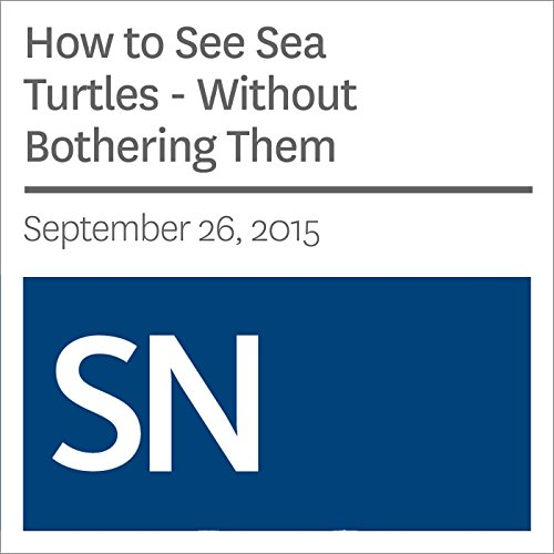 How to See Sea Turtles - Without Bothering Them audiobook cover art