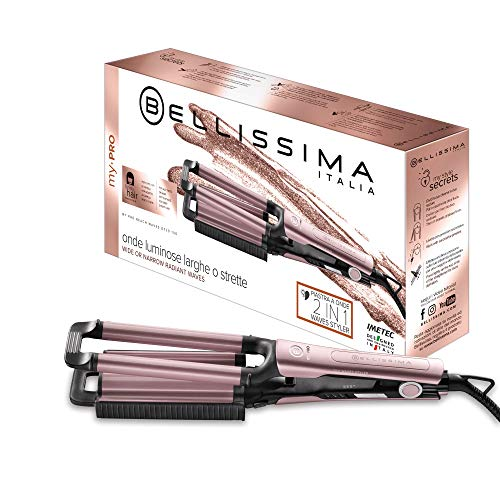 Imetec Bellissima My Pro Beach Waves GT20 100 - Plancha para Hacer Ondas Anchas...