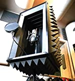 #1 Pro level Portable vocal booth for you misrophone - The Voicecube Ultra Pro 5' thick walls