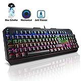 VicTsing Mechanische Tastatur Gaming mit LED