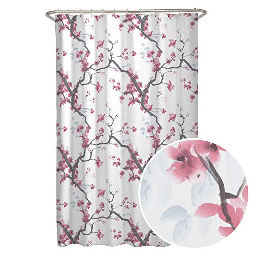 Fabric Cherrywood Blossom Shower Curtain