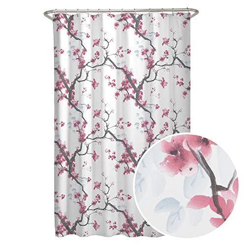 Cherrywood Blossom Fabric Shower Curtain