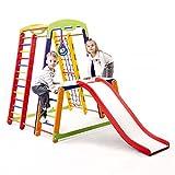 Juguete de actividades para niños, torre de escalada con tobogán, JuniorColor-Plus-1-1, espacio de juego