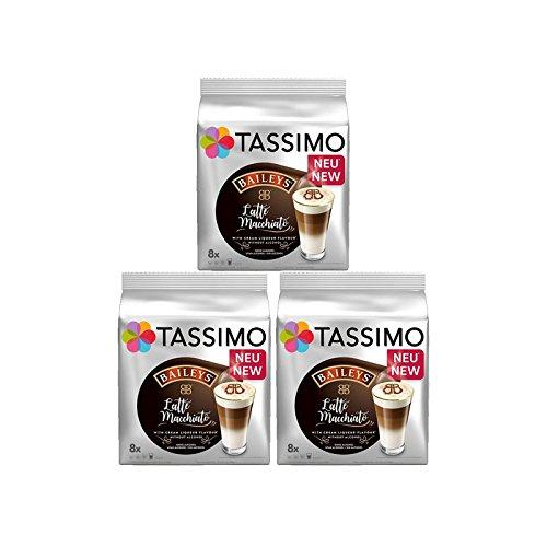 Tassimo Baileys Latte Macchaito (3 Pack,48 Tdiscs/Pods) 24 Servings