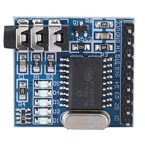 El decodificador de Voz Utiliza el Chip decodificador multifrecuencia MT8870 Módulo decodificador de Voz para decodificación de Voz para MT8870 para A120 para decodificación de Audio