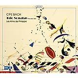 C.P.E.バッハ:フルート、ヴァイオリンと通奏低音のためのトリオ・ソナタ集(Wq 144-151)(2枚組)