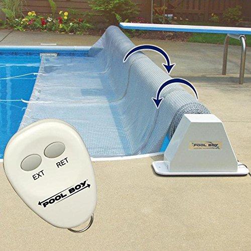 Pool Boy Powered Pool Solar Blanket Reel - Up to...