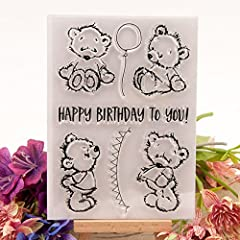Made of silicone material,healthy and do not stimulate your skin. Soft and textured,easy to DIY. Can be used for photo albums adornment. It is also a good choice for gifts,bring surprise for your friends. Enjoy your shopping time.