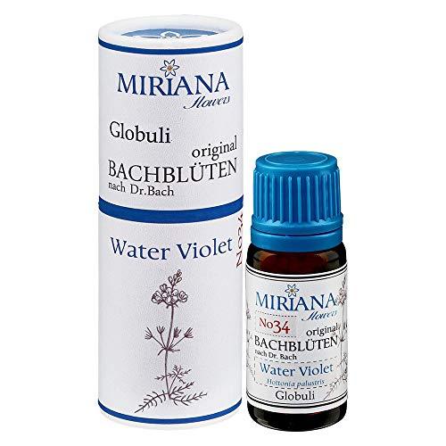 MirianaFlowers Water Violet 10g Bachblüten Globuli