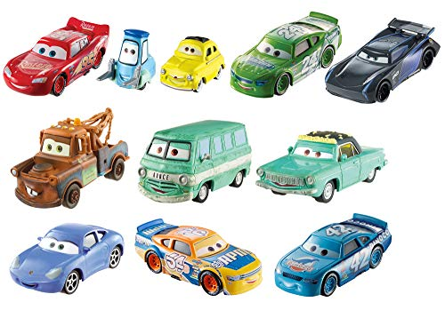 Disney Pixar Cars 3 Die-Cast 10-Pack [Amazon Exclusive]
