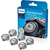 SH50/52 Replacement Heads for Philips Norelco Series 5000 (S5xxx), 6000 (S6xxx), AquaTouch (AT8xx, AT7xx), MultiPrecision Blades, Easy Cut and Installation(6 Packs)