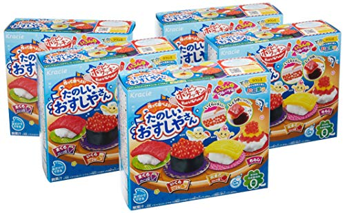 たのしいおすしやさんグレープ味5個入BOX(食玩・知育)