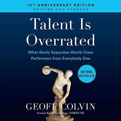 Talent Is Overrated audiobook cover art