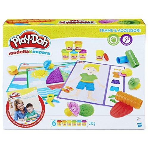Play-Doh - Modella e Impara Trame e Accessori, B3408103