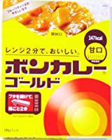大塚食品 ボンカレーゴールド甘口180g10食入1箱 レンジで2分