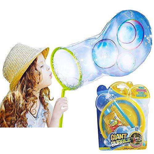 Bubble Factory Kit Bolla Gigante. Magia Enorme Set Di Bolle Di Sapone