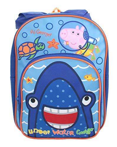 Peppa Pig George Erwin - Mochila de viaje, mochila escolar, bolsa de deporte, bolsa de rango, diseño de George We