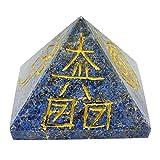 Harmonize Heilige Reiki Healing Kristall Symbole Lapislazuli Pyramide-Energie-Generator Feng Shui Spiritual