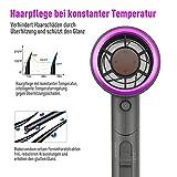 ICETEK Fön Ionen Haartrockner mit Ionenpflege Technologie 2000 Watt, mit Diffusor und Stylingdüsen, DREI Temperatur und Windgeschwindigkeiten, Klein & Leise, ideal für unterwegs und Familien - 6