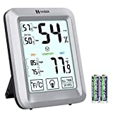 Best Home Thermometers - Habor Digital Hygrometer Indoor Thermometer, Upgraded Room Thermometer Review