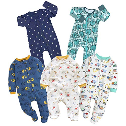 Kawaii Baby Cotton Bodysuits and Sleepers, Baby Bodysuit, Cotton Sleepers,...