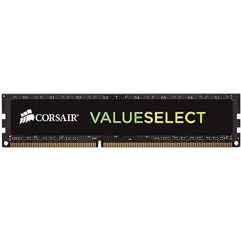 Corsair CMV8GX3M1C1600C11 Value Select 8GB (1x8GB) DDR3L 1600MHz Unbuffered CL11 DIMM 1.35V