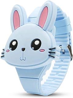 Orologio Bambino XYBB Bambini Simpatici cartoni animati di coniglio Orologio elettronico Ragazzi e ragazze Orologi da pols...