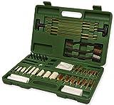 Nitehawk - Kit de nettoyage de luxe pour pistolet - avec brosses/58 pièces - fusil de chasse/pistolet à air comprimé