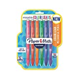 Paper Mate Clearpoint Color Lead Mechanical Pencils, 0.7mm, Assorted Colors, 6...