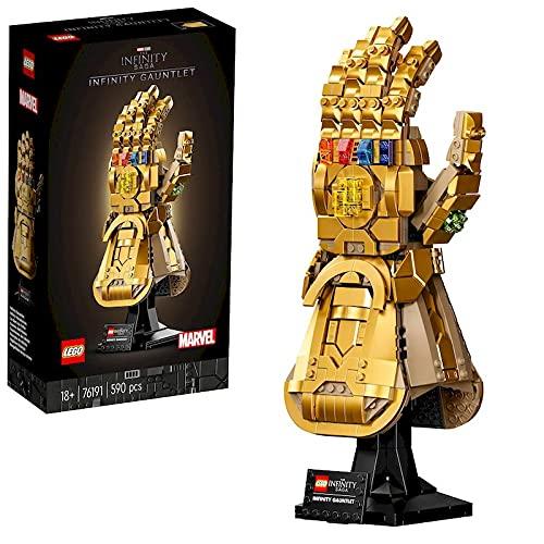 Oferta de LEGO 76191 Marvel Guantelete del Infinito, Set de Construcción para Adultos del Guante de Thanos de los Vengadores