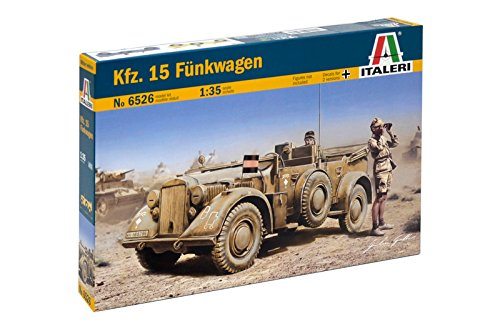 Carson 510006526–1 : 35 WWII deu SD Voiture 15 Chariot de véhicule sans Fil