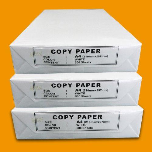 1500 Blatt OFFICE-Partner Kopierpapier DIN A4 80g / m² weiß Papier Kopierpapier Druckerpapier Laserpapier Tintenstrahlpapier Universalpapier Standardpapier