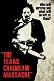Aquarius Texas Chainsaw Massacre- Leatherface Silhouette Poster 24 x 36in