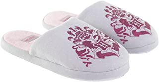 Zapatillas de interior para niña, Harry Potter, color gris y rosa del 28 al 35 (EU