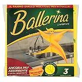 Ballerina Panno Giallo, Multiuso - 3 Pezzi...