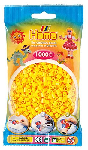 Hama 207-03 - Perlen 1000 Stück, gelb