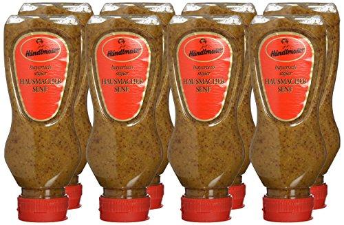 Händlmaier's Hausmachersenf süß Squeeze-Flasche, 8er Pack (8 x 225 ml)
