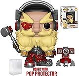 Funko Pop! Games: Overwatch - Torbjörn Vinyl Figure (Includes Pop Box Protector Case)