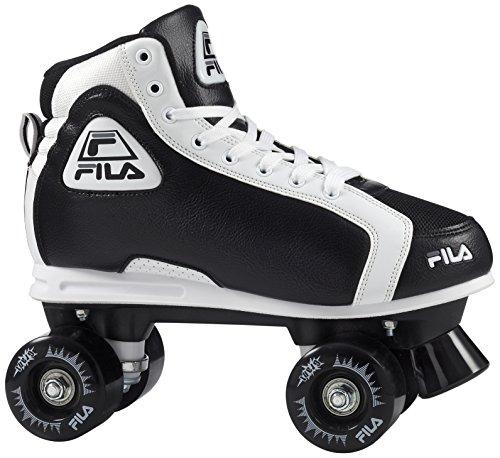Fila Erwachsene Grant Roller Skate, schwarz/Weiß, 37