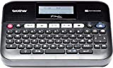 Brother PT-D450VP Etichettatrice Desktop Collegabile a PC, con Display LCD, Ampia Tastiera QWERTY, Tasti Funzione 'One Touch', Nastri fino a 18 mm
