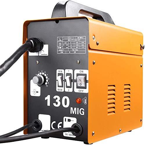 半自動溶接機 溶接機 ノンガス溶接機 コンパクト半自動 100V 電流4段階調整可能 高性能 家庭用 業務用
